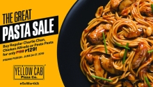 The Great Pasta Sale at Yellow Cab FI