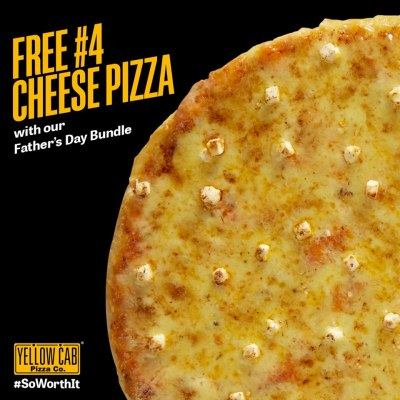 Yellow Cab Pizza Fathers Day Bundle