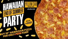 Yellow Cab Pizza Hawaiian End of Summer Party FI