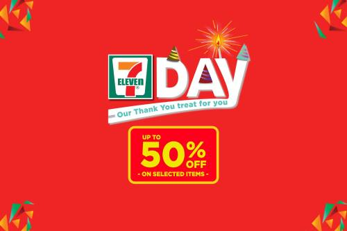 7-eleven day 50% off