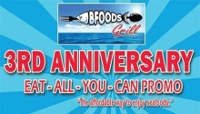 Bfoods Grill 3rd Anniversary Eat All You Can Promo FI