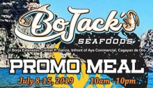 BoJacks Seafoods Grill Promo Meal FI