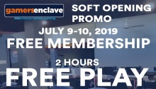 Gamers Enclave Soft Opening Promo FI