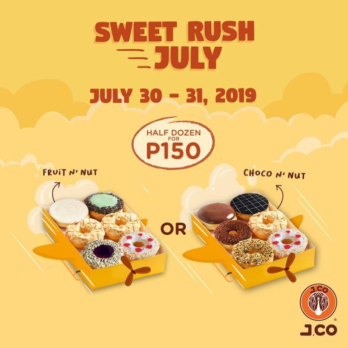 J.CO Donuts & Coffee Sweet Rush July