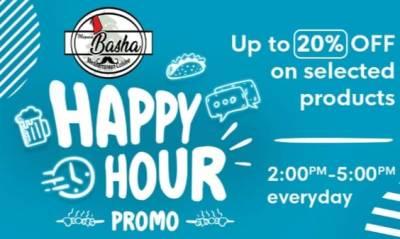Marmar Basha Happy Hour Promo