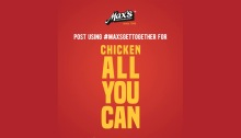 maxs restaurant chicken all you can FI