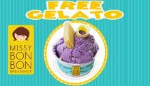 Missy Bon Bon National Ice Cream Month FREE Gelato FI