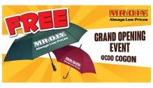 Mr DIY Cogon FREE Umbrella FI