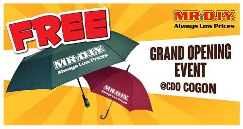 Mr DIY Cogon FREE Umbrella