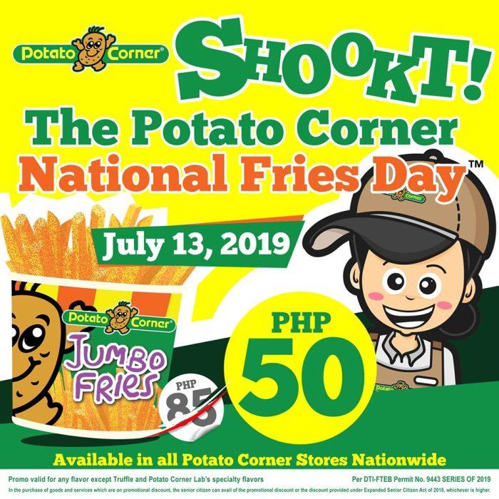 Potato Corner National Fries Day