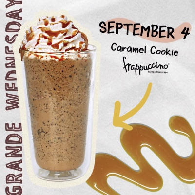sep4 caramel cookie frappuccino