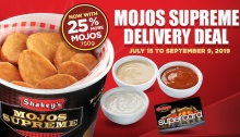 Shakey's P99 Mojos Supreme Delivery Deal FI