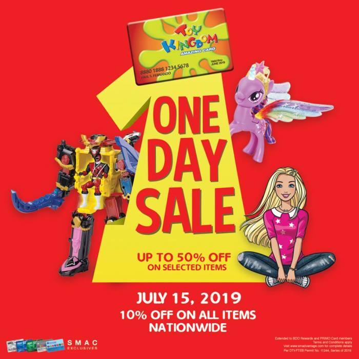 Toy Kingdom One Day Sale