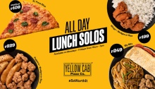 Yellow Cab Pizza All Day Lunch Solos FI