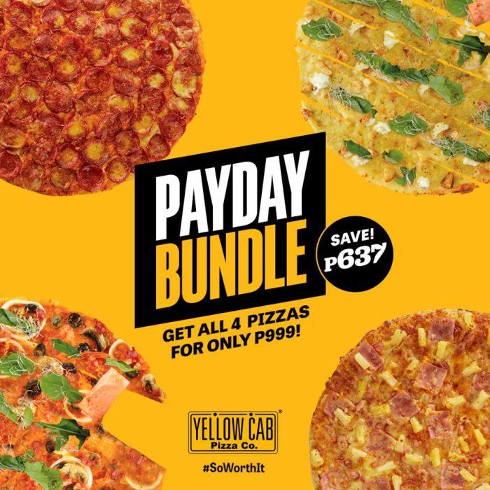 Yellow Cab Pizza Payday Bundle