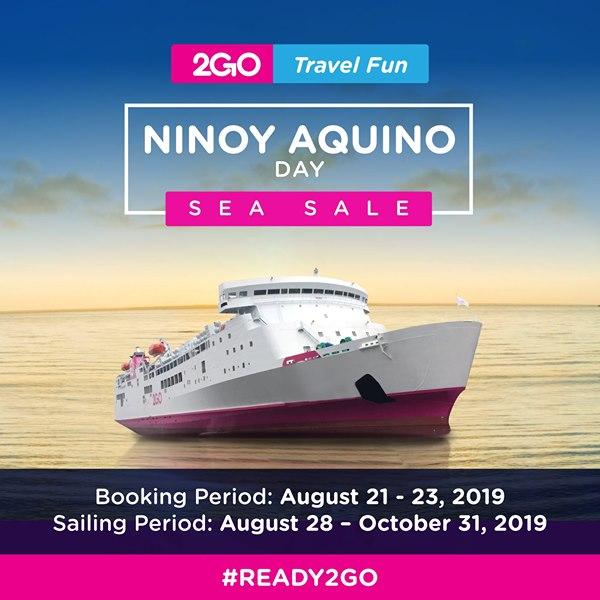 2Go Ninoy Aquino Day Sea Sale