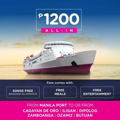 2GO Nationwide Sea Sale CDO Manila