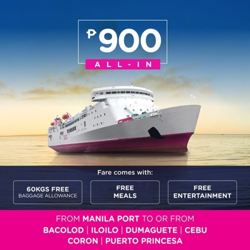 2GO Nationwide Sea Sale to and from Manila