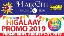 HairCiti Salon & Skin Fiesta Promo FI