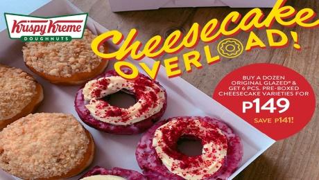 Krispy Kreme Cheesecake Overload FI