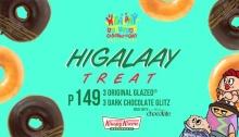 Krispy Kreme Higalaay Treat 350y