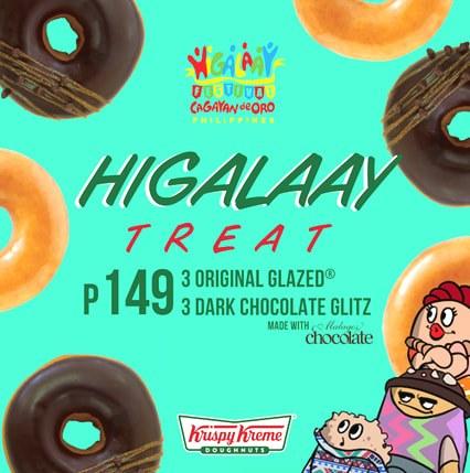 Krispy Kreme Higalaay Treat