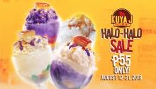 Kuya J Restaurant Halo-Halo Sale FI