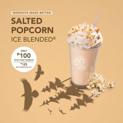 Salted Popcorn Ice Blended