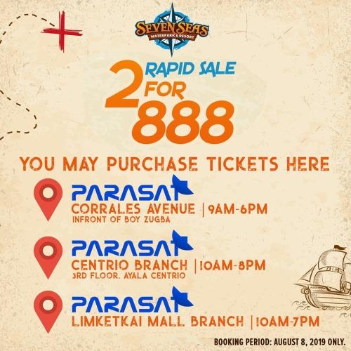 Seven Seas Rapid Sale Parasat