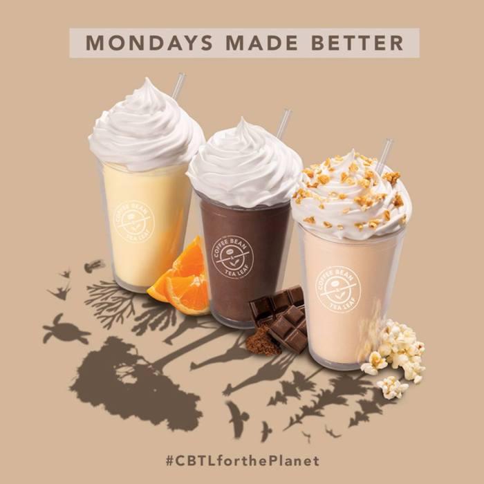 The Coffee Bean & Tea Leaf Mondays Made Better sq