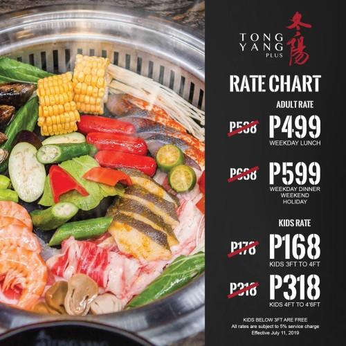 tong yang july11 price