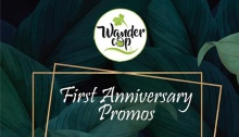 Wandercup First Anniversarry Promos FI