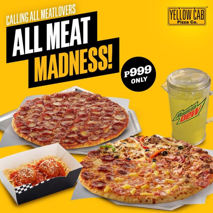 Yellow Cab All Meat Madness