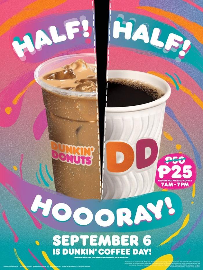 DunkinDonuts Half Half Hooray portrait