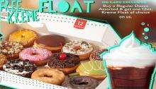 FREE Kreme Float for Krispy Kreme OG Members FI