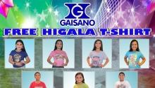 Gaisano City Mall FREE Higala T-shirt FI