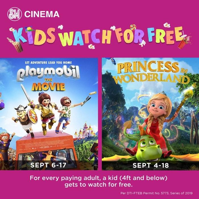 Kids Watch Playmobil, Princess in Wonderland for Free at SM Cinema