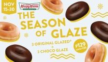 krispy kreme the season of glaze FI