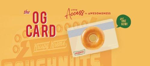 Krispy Kreme OG Card cover