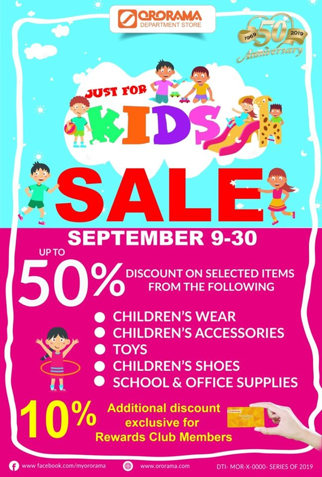 Ororama Just for Kids Sale