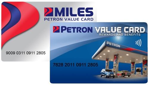 petron value card FI