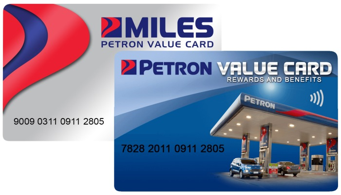 petron value card FI