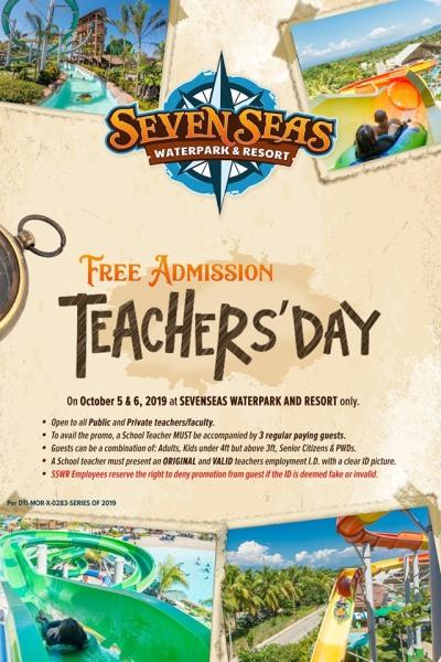 Seven Seas Teacher's Day Treat