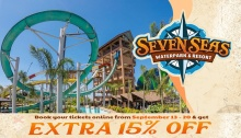 Seven Seas Waterpark Extra 15% Off FI