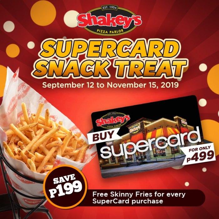 Shakey's Supercard Snack Treat