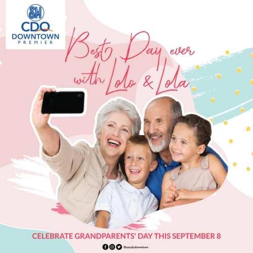 SM Downtown Premier Grandparents Day