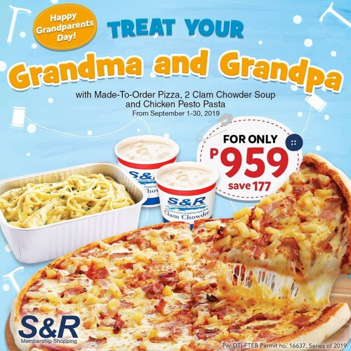 S&R Grandparent's Treat