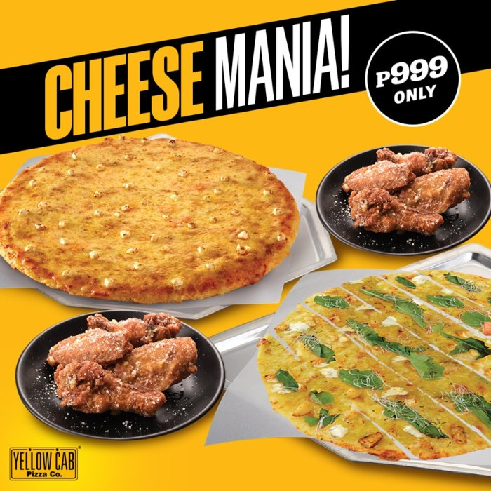 Yellow Cab Cheese Mania