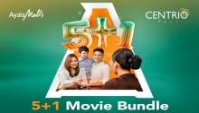 Ayala Centrio Cinemas 5+1 Movie Bundle FI