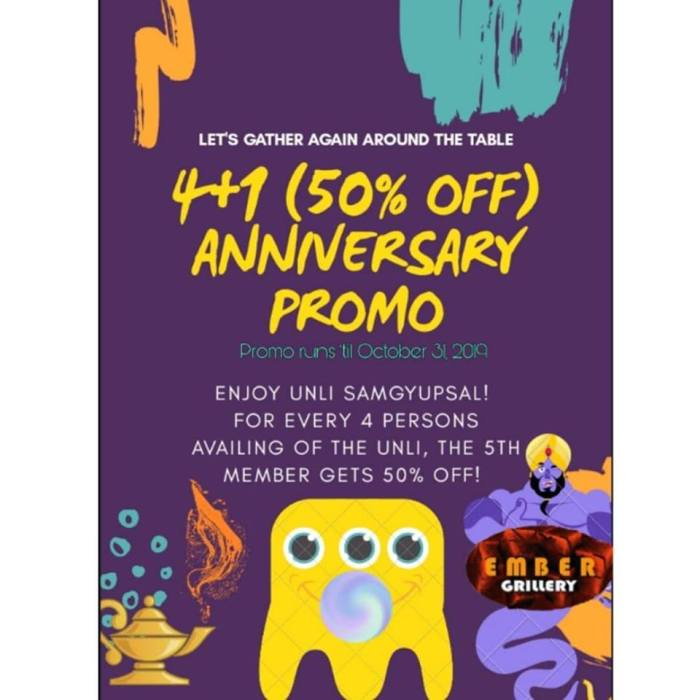 ember grillery anniversary promo